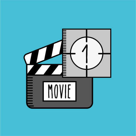 film industry: film industry design, vector illustration eps10 graphic