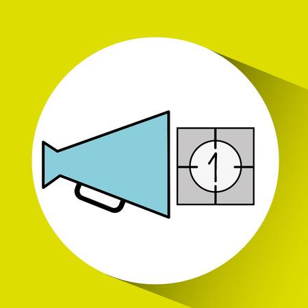 film industry: film industry design, vector illustration eps10 graphic