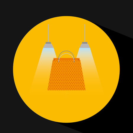 simple store: shopping bag design, vector illustration eps10 graphic