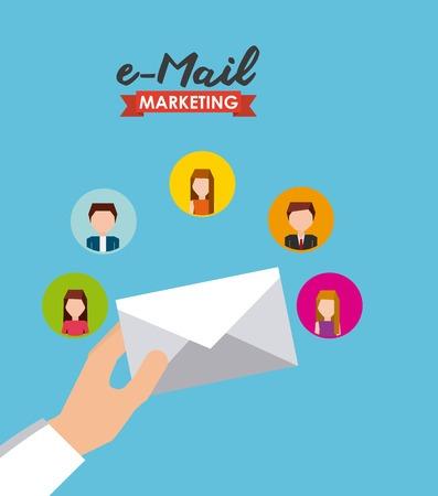 mail marketing: mail marketing design, vector illustration eps10 graphic