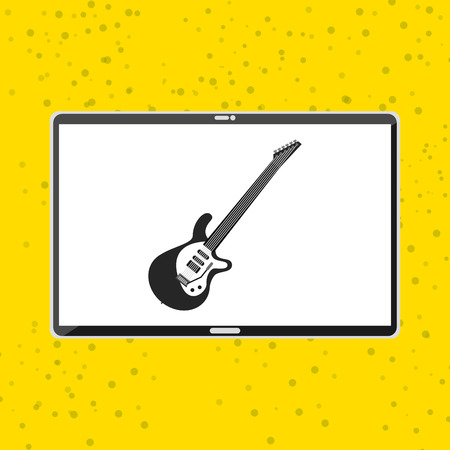 graphic illustration: mobile audio design, vector illustration eps10 graphic