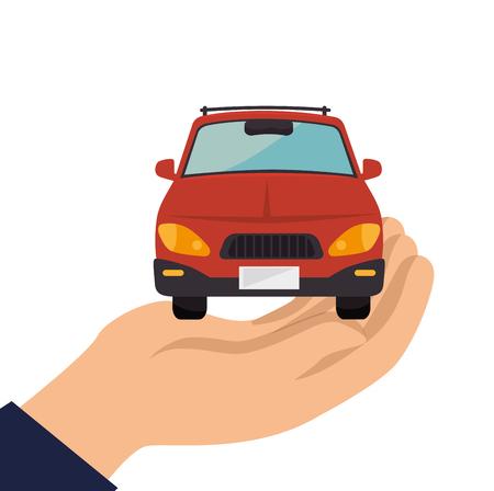graphic illustration: classic cars design, vector illustration eps10 graphic