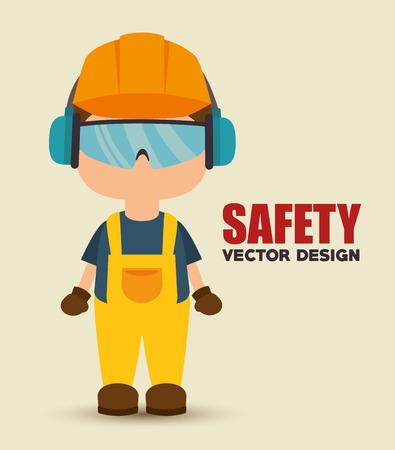 La seguridad del diseño industrial, gráfico ilustración vectorial eps10 Foto de archivo - 57072089