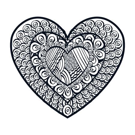 graphic illustration: heart love design, vector illustration eps10 graphic