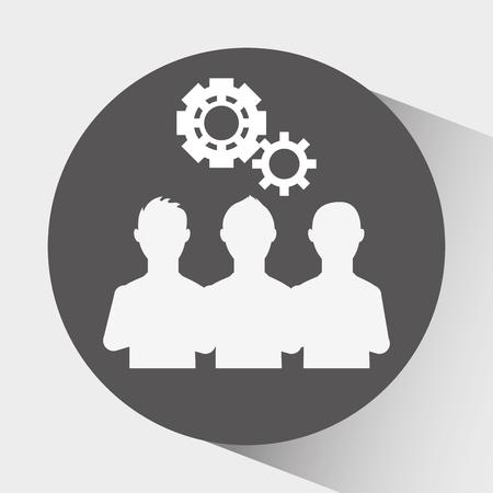global settings: social network design, vector illustration eps10 graphic