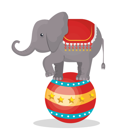 graphic illustration: circus show design, vector illustration eps10 graphic Illustration