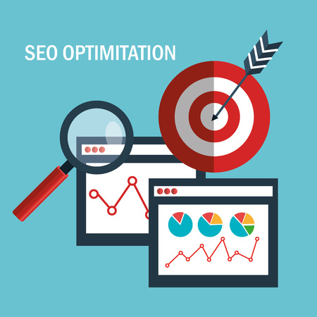 search engine optimization design, vector illustration eps10 graphic 向量圖像