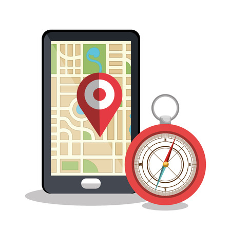 graphic illustration: location icon design, vector illustration eps10 graphic