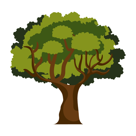 cultivated: tree isolated  design, vector illustration eps10 graphic Illustration
