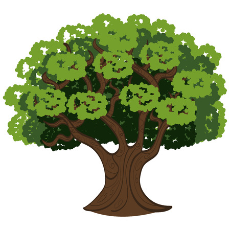 cultivating: tree isolated  design, vector illustration eps10 graphic Illustration