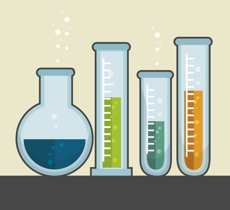chemical industry: chemical industry design, vector illustration eps10 graphic Illustration