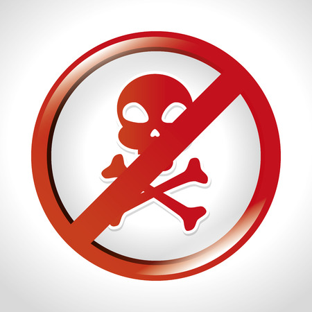chemical hazard: caution sign design, vector illustration eps10 graphic