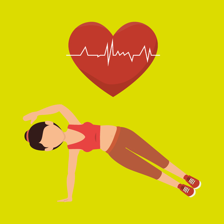 habitos saludables: Los h�bitos saludables dise�o, ejemplo gr�fico del vector eps10