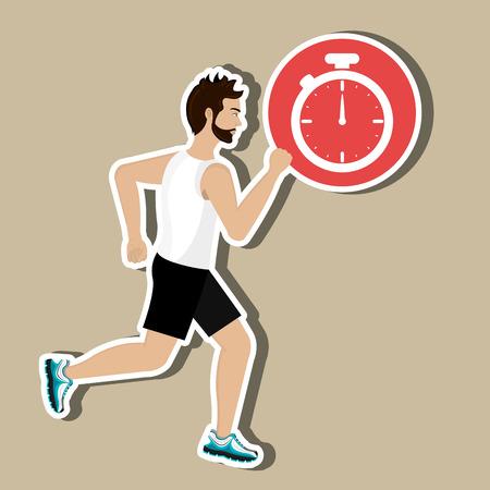habits: Healthy habits design, vector illustration eps10 graphic