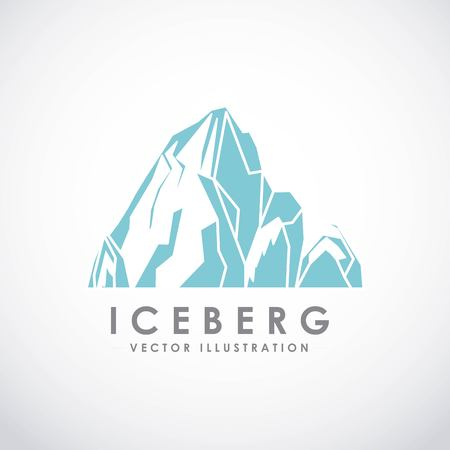 glacier: iceberg glacier design, vector illustration eps10 graphic Illustration