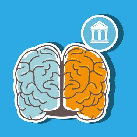 storming: brain storming design, vector illustration  graphic