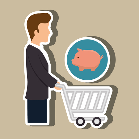buyer: avatar buyer design, vector illustration eps10 graphic
