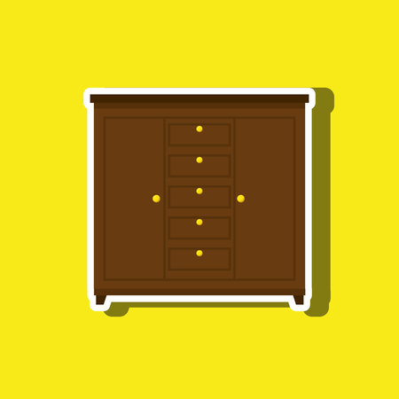 mid century: House furniture design, vector illustration eps10 graphic