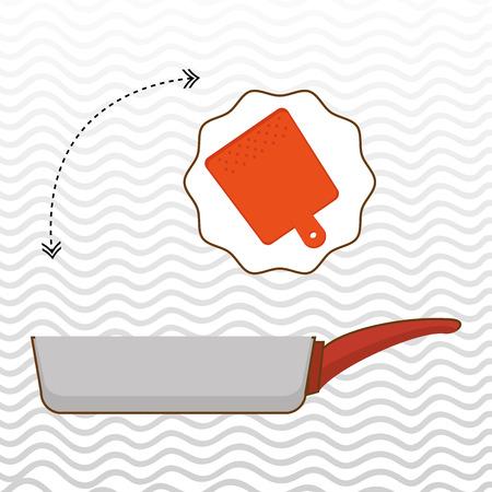kitchen equipment: kitchen equipment design, vector illustration Illustration