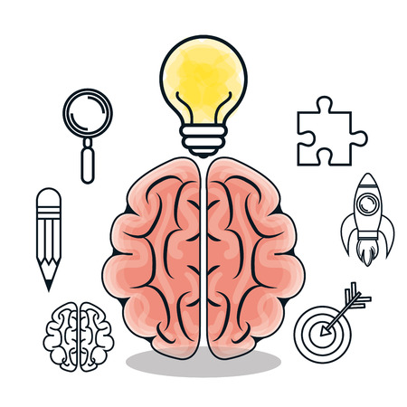 storming: brain storming  design, vector illustration eps10 graphic