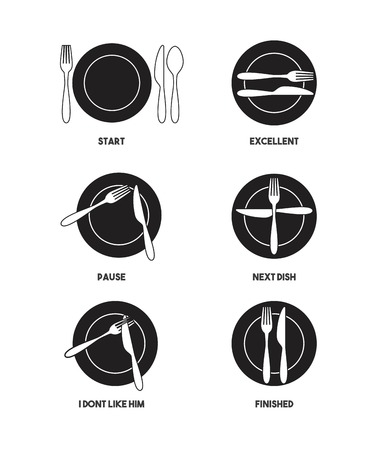 finished: restaurant menu design, vector illustration eps10 graphic