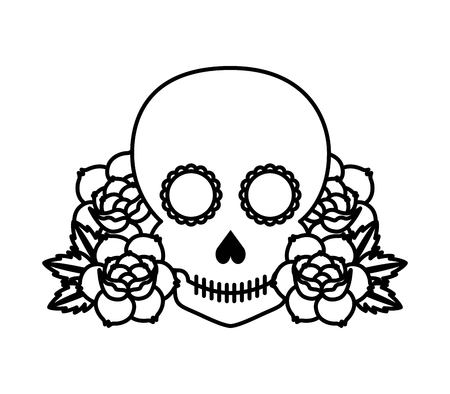 roses tattoo: roses tattoo design, vector illustration eps10 graphic