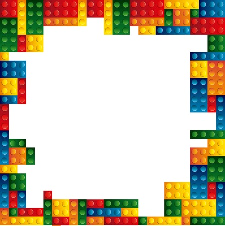 Blöcke zu bauen Design, Vektor-Illustration eps10 Grafik