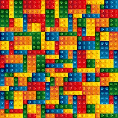blocks to build design, vector illustration eps10 graphic  イラスト・ベクター素材