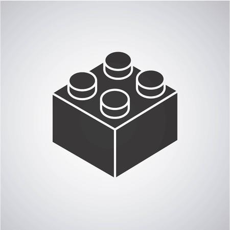 Blöcke zu bauen Design, Vektor-Illustration eps10 Grafik Standard-Bild - 57721202