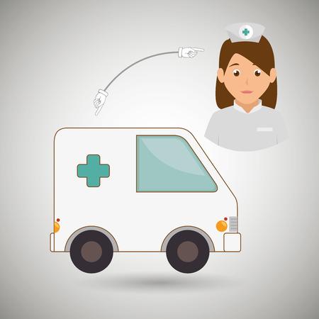 hospital icon: medical healthcare design, vector illustration eps10 graphic