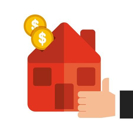 burning money: money concept  design, vector illustration eps10 graphic Illustration