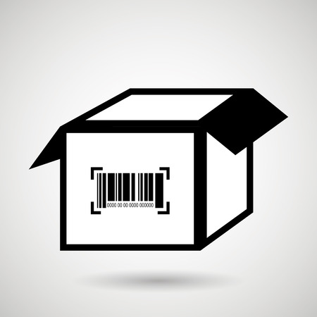 qrcode: product identification code design, vector illustration eps10 graphic