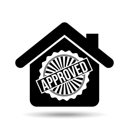 business credit application: credit approved design, vector illustration eps10 graphic Illustration