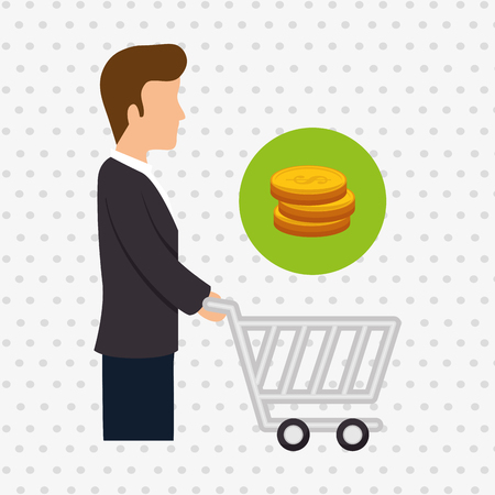 buyers: avatar buyer design, vector illustration eps10 graphic