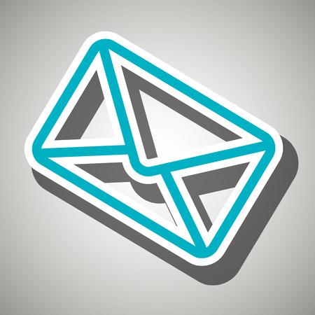 envelope icon: envelope icon design Illustration