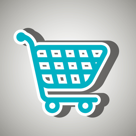 shopping cart icon: cart shopping  icon design,