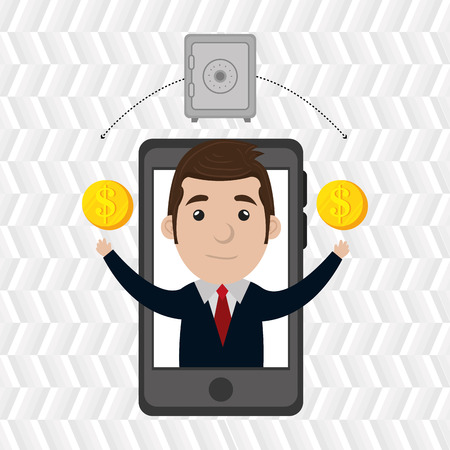 businessperson: businessperson avatar design, Illustration