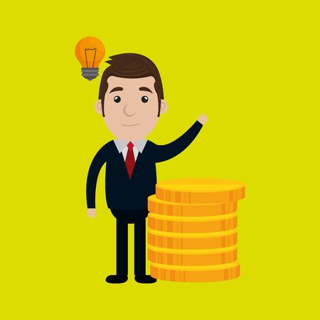 businessperson: businessperson avatar design