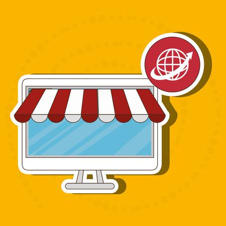 electronic commerce: electronic commerce design, Illustration