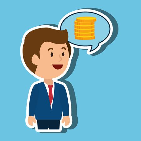 businessperson: businessperson avatar design, vector illustration eps10 graphic