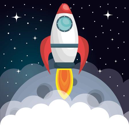 science education: the solar system design, vector illustration eps10 graphic Illustration