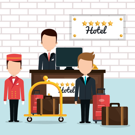 amenities: hotel service design, vector illustration eps10 graphic
