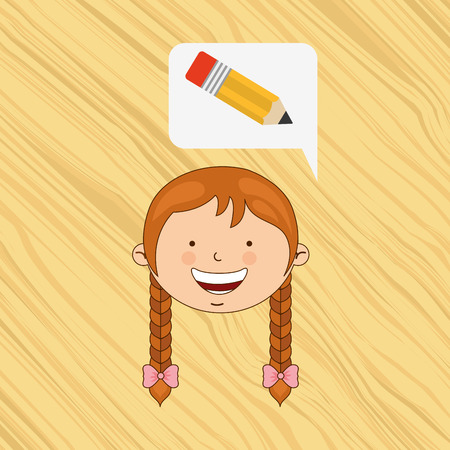 best schools: small students design, vector illustration eps10 graphic