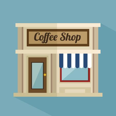 market place: coffee shop design, vector illustration eps10 graphic
