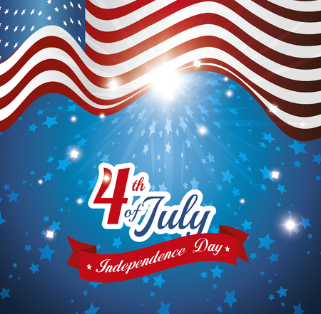 independence day design, vector illustration eps10 graphic Illustration
