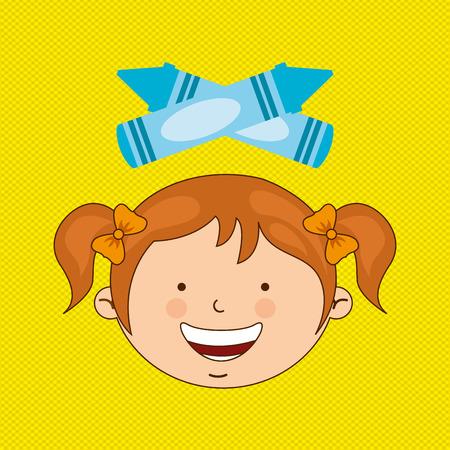 primary color: small students design