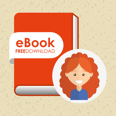 using: person using an electronic book design