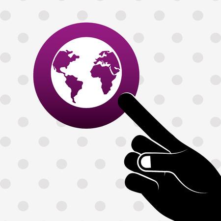 global positioning system: global positioning system design, vector illustration eps10 graphic Illustration