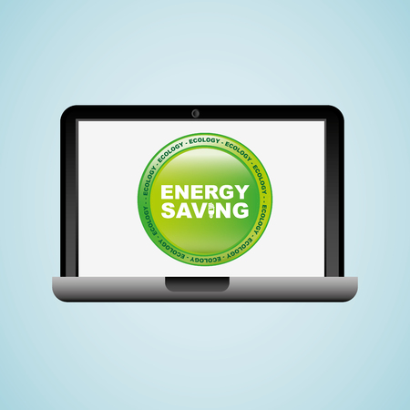 economical: energy saving  design, vector illustration eps10 graphic