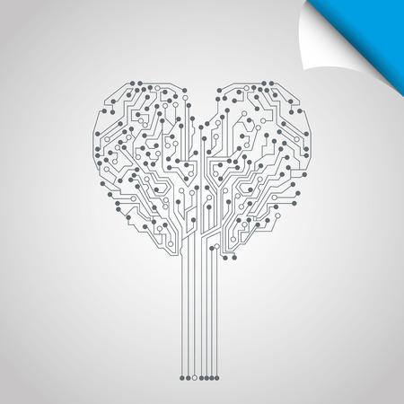 fiestas electronicas: technology icon design, vector illustration eps10 graphic Vectores